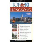 Hongkong útikönyv Top 10 Panemex kiadó