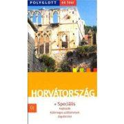Horvátország útikönyv Polyglott kiadó