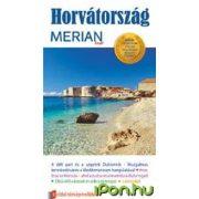 Horvátország útikönyv Merian kiadó