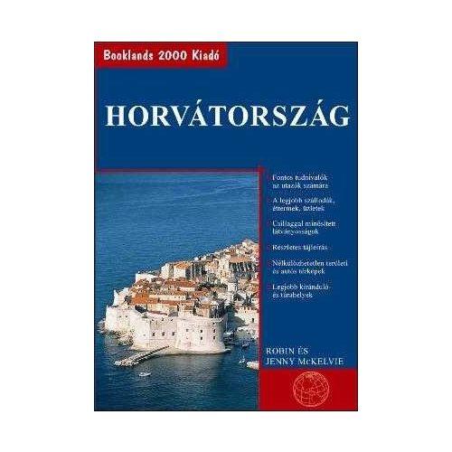 Horvátország útikönyv Booklands 2000 kiadó