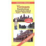 Vietnam, Kambodzsa útikönyv Dekameron kiadó 2011