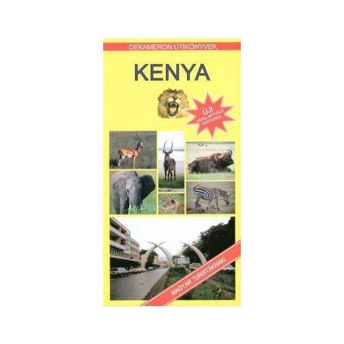 Kenya útikönyv Dekameron kiadó