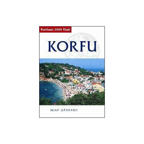 Korfu útikönyv Booklands 2000 kiadó