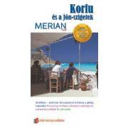Korfu és Jón szigetek útikönyv Merian kiadó