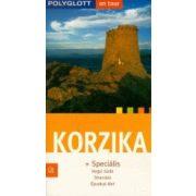 Korzika útikönyv Polyglott kiadó