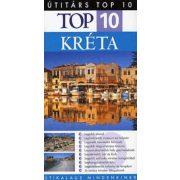 Kréta útikönyv Top 10 Panemex kiadó