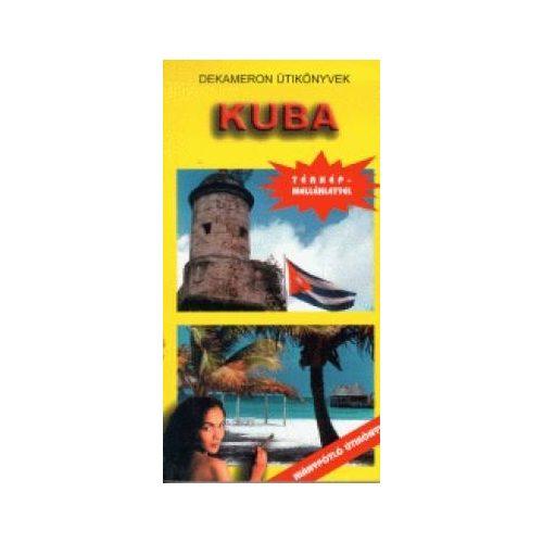 Kuba útikönyv Dekameron kiadó