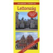 Lettország útikönyv Dekameron kiadó