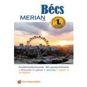Bécs útikönyv Merian kiadó
