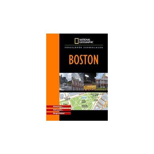 Boston útikönyv National Geographic 2009