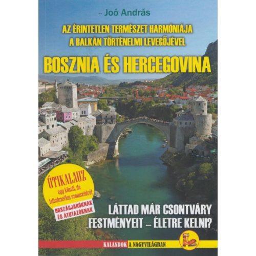 Bosznia-Hercegovina útikönyv Dekameron kiadó