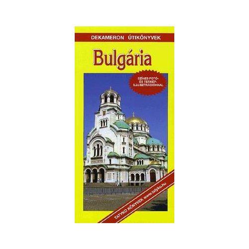 Bulgária útikönyv Dekameron kiadó