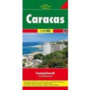 Caracas térkép Freytag 1:12 000
