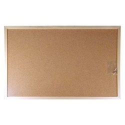 Parafa tábla 60x90 cm fakeretes parafatábla 90x60 cm fa kerettel