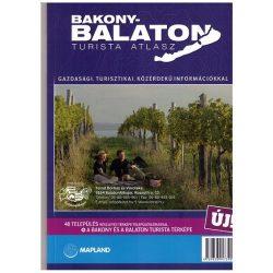 Bakony turista atlasz, Bakony-Balaton turista atlasz Mapland 2015 1:80 000