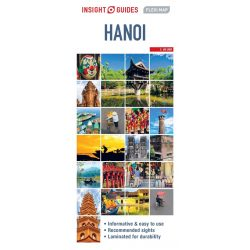 Hanoi térkép Insight Flexi Map 1:12 500