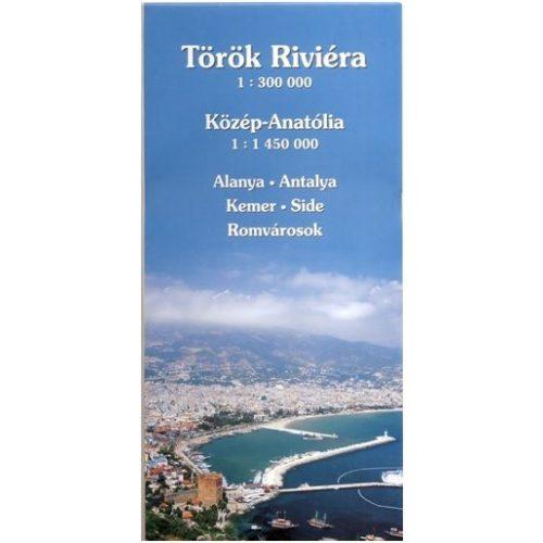 Török tengerpart térkép Hibernia 1:300 000 2013