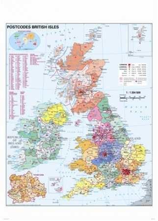 Nagy Britannia Térkép