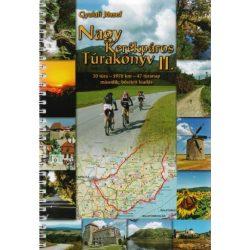Nagy kerékpáros túrakönyv 2. atlasz Gyulafi József  2014