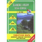 116. Szalánci hegység Észak turista térkép VKÚ 1:50 000