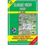 117. Szalánci hegység Dél turista térkép VKÚ 1:50 000