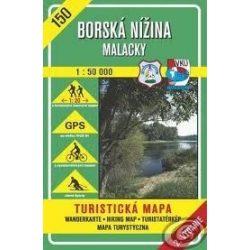 150. Morva folyó völgye, Malacka környéke turista térkép VKÚ 1:50 000