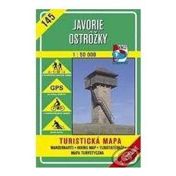 145. Jávoros turista térkép VKÚ 1:50 000
