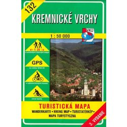 132. Körmöcbánya turista térkép VKÚ 1:50 000