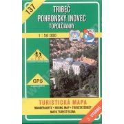 137. Tribecs, Zobor vidék turista térkép VKÚ 1:50 000