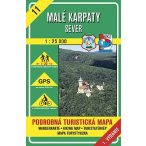 11. Malé Karpaty Kis Kárpátok turista térkép VKÚ 1:25 000  Sever