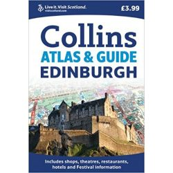 Edinburgh atlasz Collins 1:9 000
