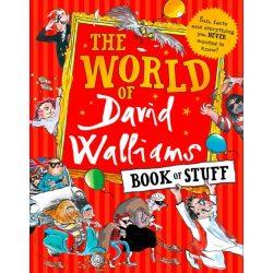 The World of David Walliams Book of Stuff könyv 2018 angol