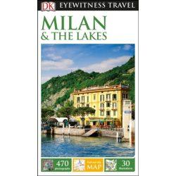 Milan & the Lakes Milánó útikönyv DK Eyewitness Guide, angol 2017