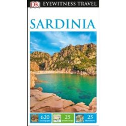 Sardinia Szardínia útikönyv DK Eyewitness Guide, angol 2017
