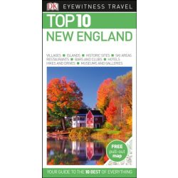 New England útikönyv Top 10  DK Eyewitness Guide, angol 2017
