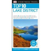 Lake District útikönyv Top 10 DK Eyewitness Guide, angol 2018