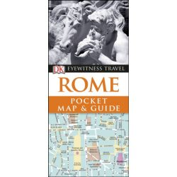 Rome Róma útikönyv DK Eyewitness Pocket Map and Guide: Rome  2018