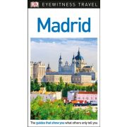 Madrid útikönyv DK Eyewitness Guide, angol 2018