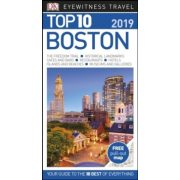 Boston útikönyv Top 10 DK Eyewitness Guide, angol 2019