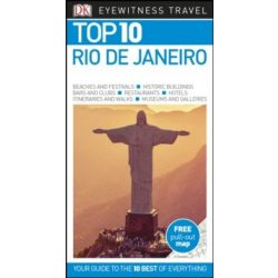 Rio de Janeiro útikönyv Top 10 DK Eyewitness Guide, angol 2018