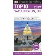 Washington DC útikönyv Top 10 DK Eyewitness Guide, angol 2019