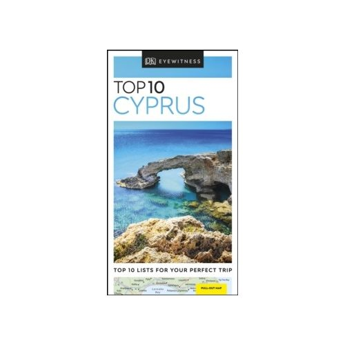 Ciprus útikönyv, Cyprus útikönyv Top 10 DK Eyewitness Guide, angol 2019