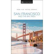 San Francisco útikönyv, San Francisco and the Bay Area útikönyv DK Eyewitness Guide, angol 2019