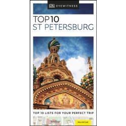 St Petersburg Top 10 DK Eyewitness Guide, Szentpétervár útikönyv, angol 2019