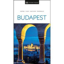 Budapest útikönyv DK Eyewitness Guide, angol 2020