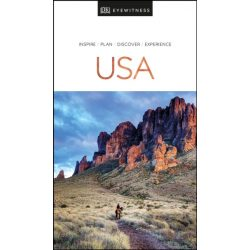 USA útikönyv DK Eyewitness Guide, angol 2020
