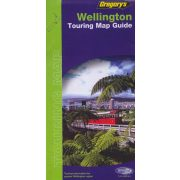 Wellington térkép Gregorys 1:10 000