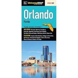 Orlando térkép Universal Map, Florida térkép