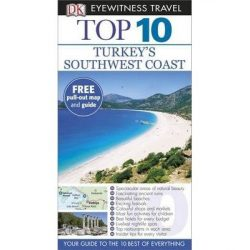 Turkey's Southwest Coast útikönyv Top 10 DK Eyewitness Guide, angol 2014 Törökország útikönyv