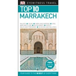 Marrakesh útikönyv Top 10  DK Eyewitness Guide angol 2018